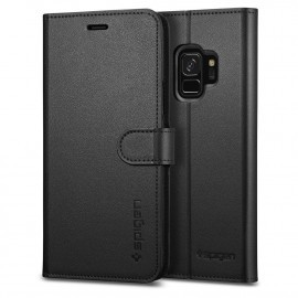 Spigen Galaxy S9 Case Wallet S zwart