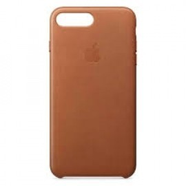 Apple leather case iPhone 7 / 8 Plus saddle brown
