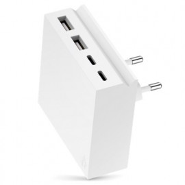 usbepower HIDE Mini+ 27W 4-in-1 wall charger wit