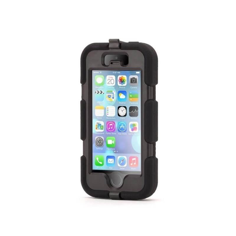 Griffin Survivor All-Terrain hardcase iPhone 5(S) / SE zwart