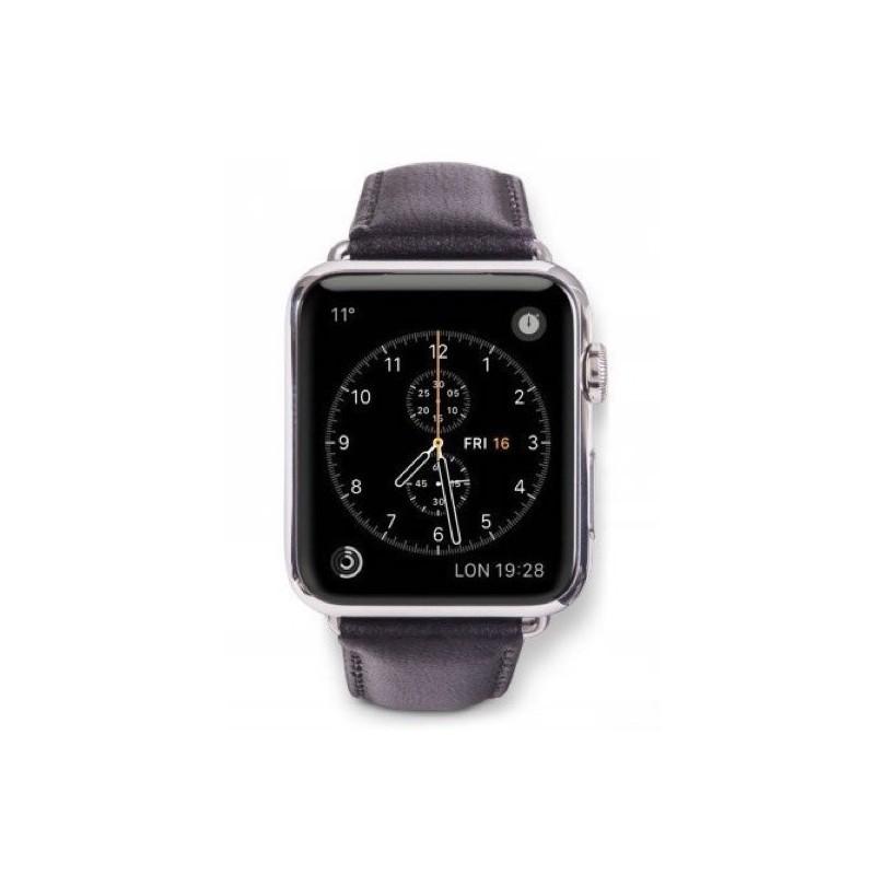 dbramante1928 Copenhagen Apple Watch bandje 38 / 40 mm grijs / zwart