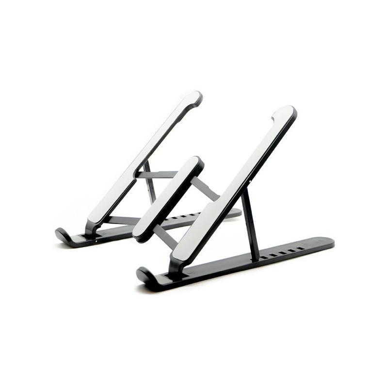 Casecentive Aluminium Foldable Laptop Stand zwart