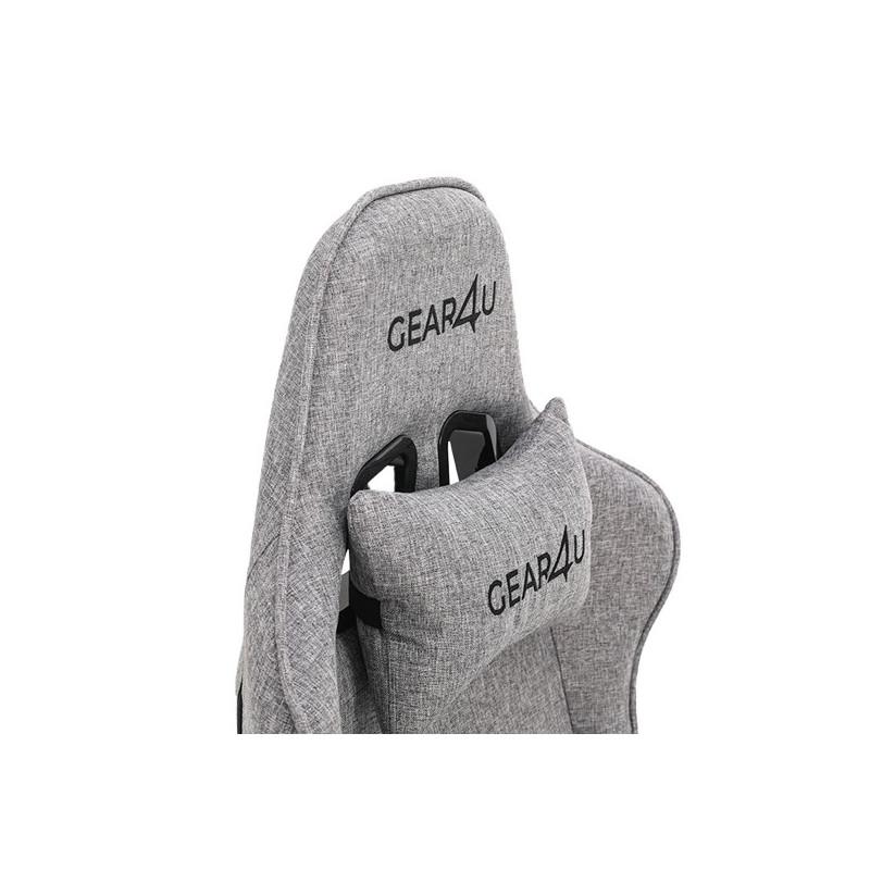 Gear4U Elite fabric gaming chair grey