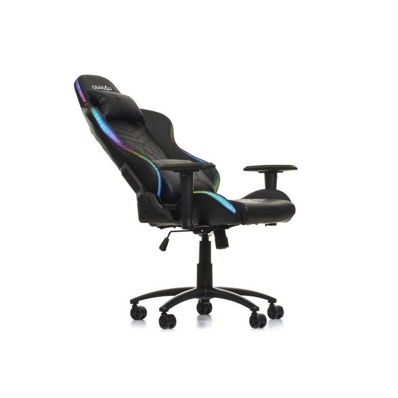 Gear4U Gaming chair with RGB lighting Black