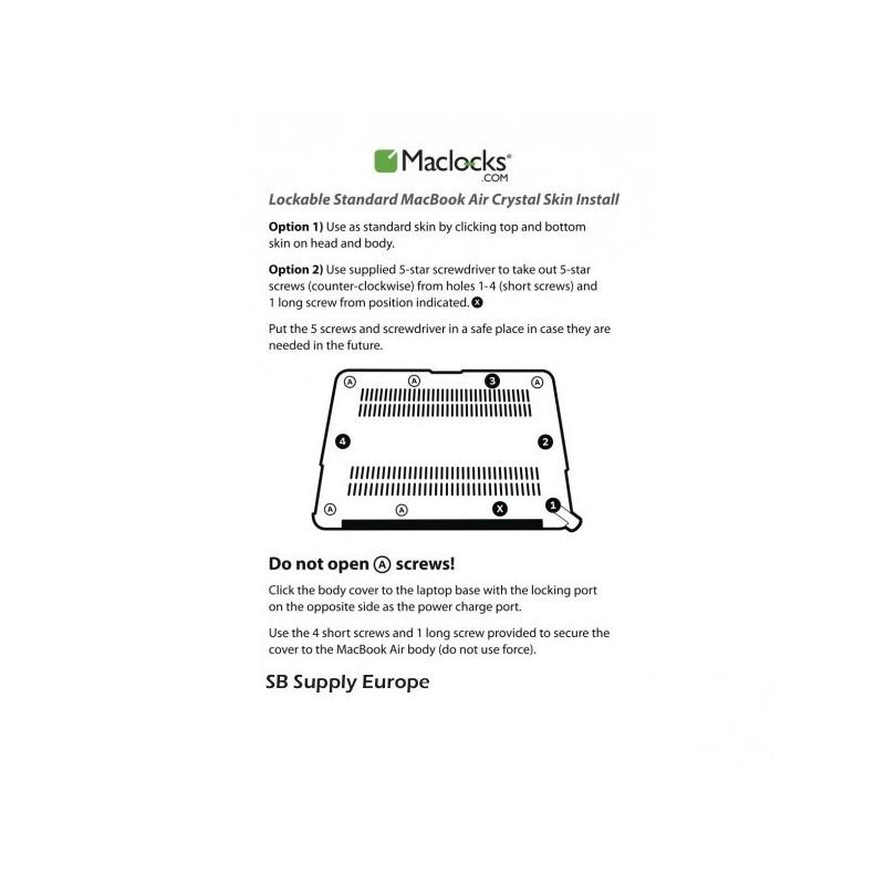 """Maclocks MacBook Air 11"""" lock en security case"""