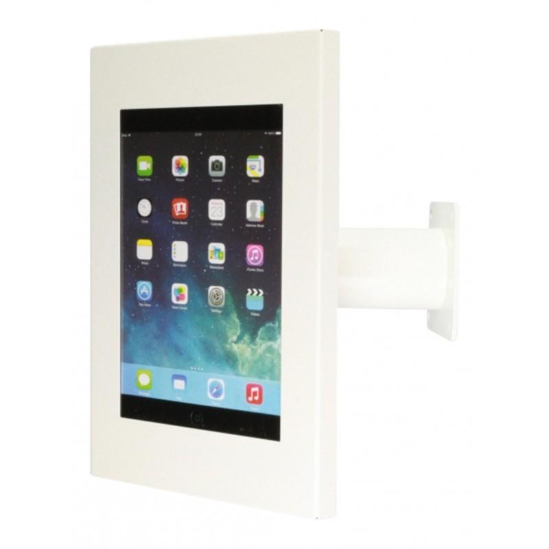 Tablet muur- en tafelstandaard Securo iPad en Galaxy Tab wit