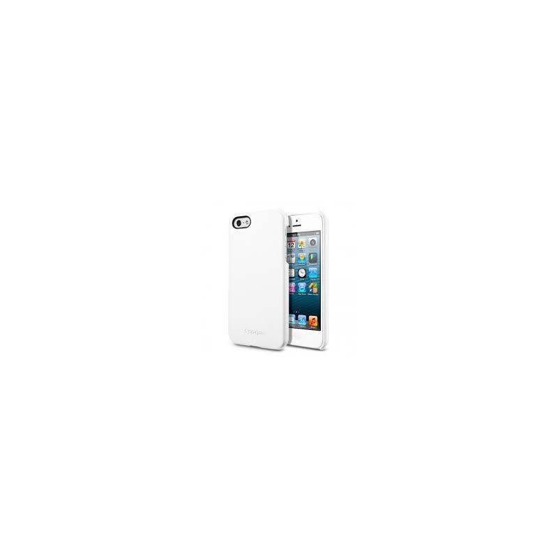 Spigen Leather Grip iPhone 5(S)/SE wit