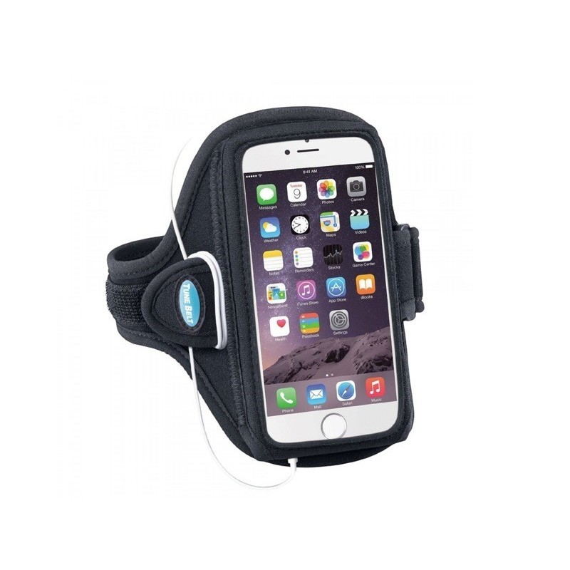 Tune Belt Sport armband AB92 iPhone 6(S) / 7 / 8 Plus zwart