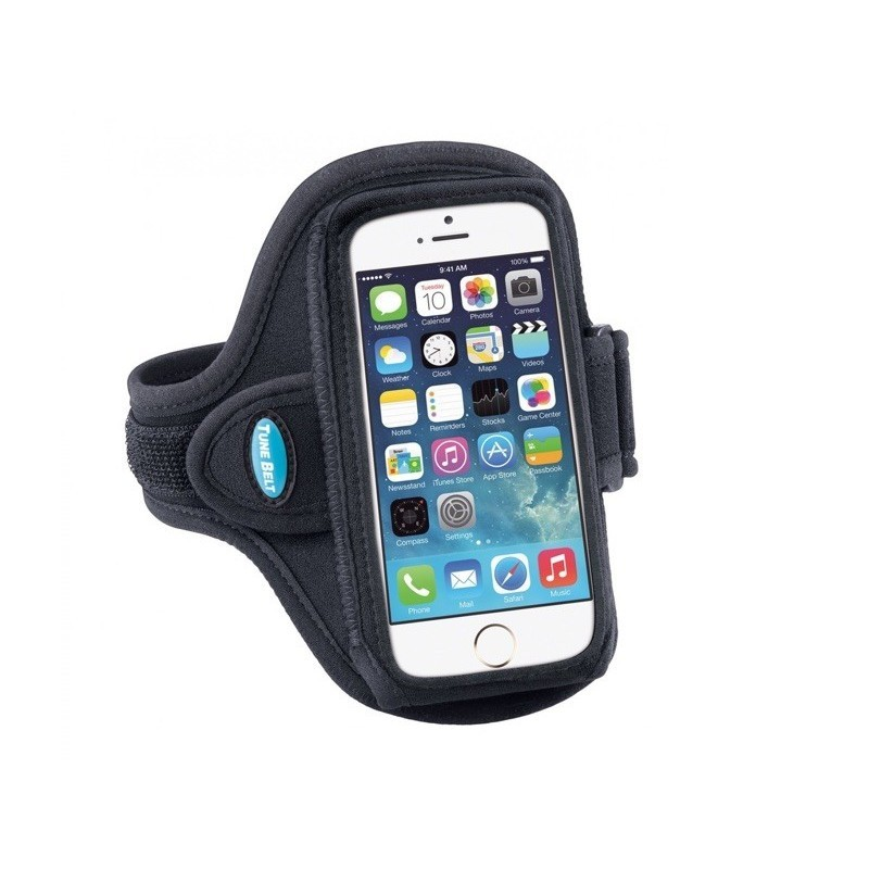 Tune Belt Sport armband AB86 iPhone 6(S) / 7 / 8 / SE 2020 zwart
