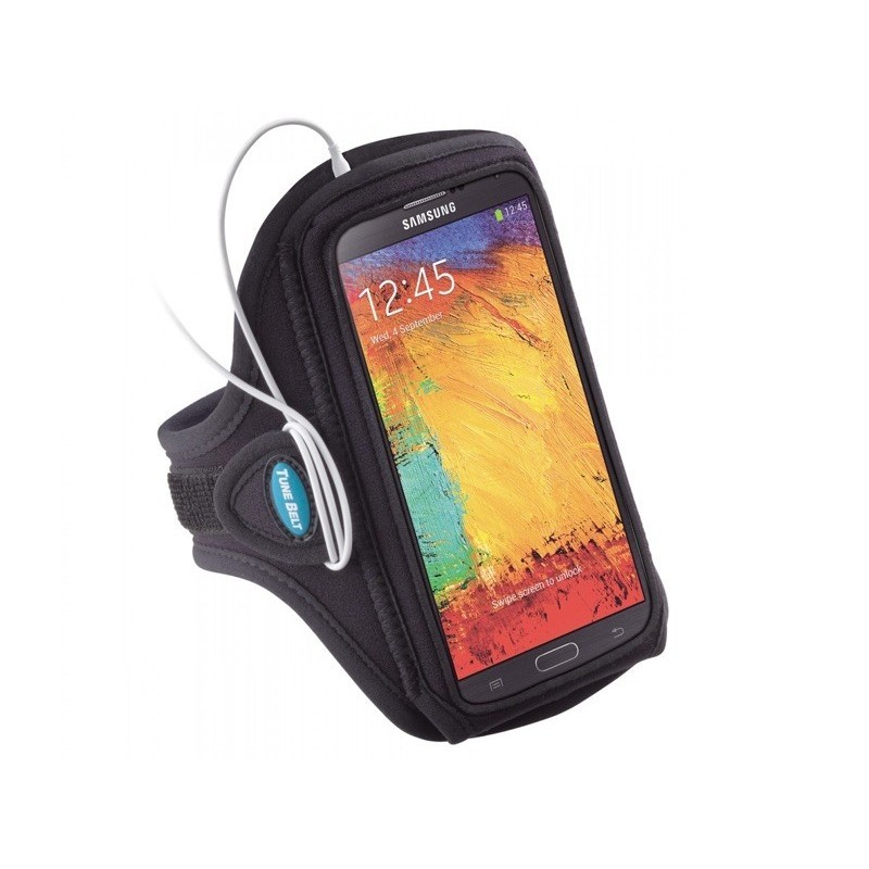 Tune Belt Sport armband AB88 Galaxy Note 5 zwart