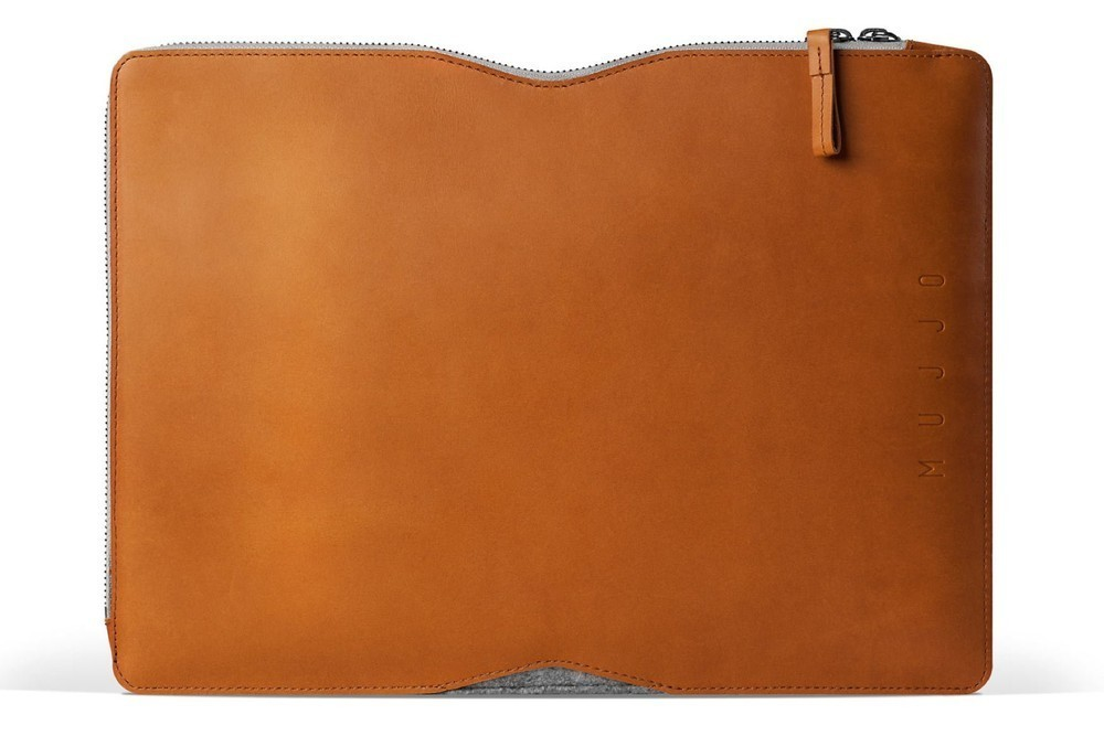 "Mujjo Folio Sleeve MacBook Air/Pro (Retina) 13"" bruin"