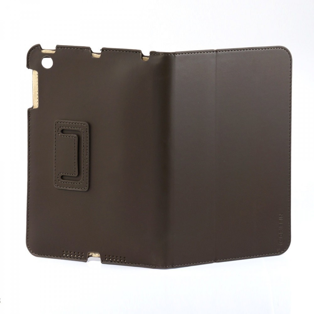 Griffin Slim Booklet case iPad Mini 1/2/3 bruin