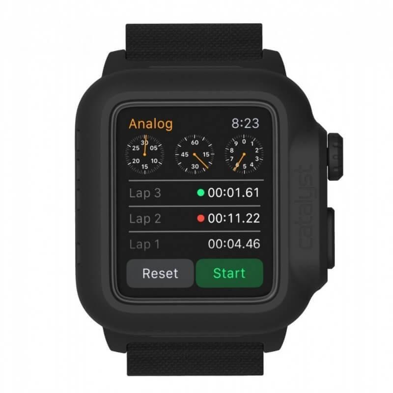 Catalyst waterproof Apple Watch 1 42mm case black