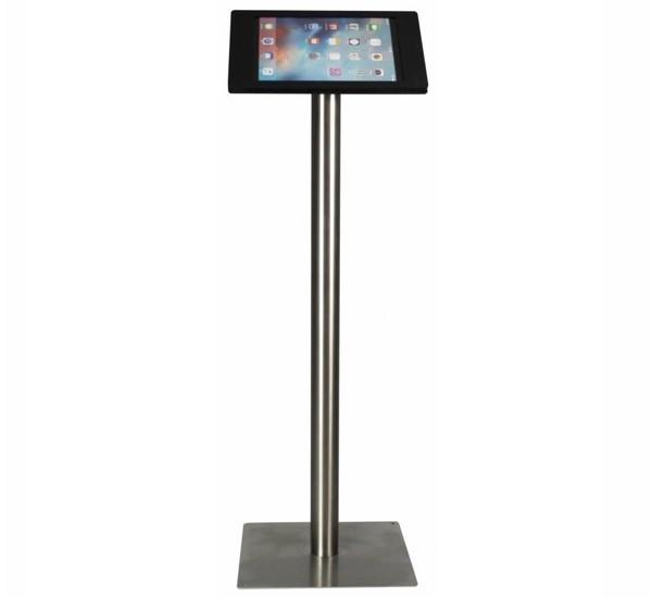 Tablet vloerstandaard Fino iPad Pro 12,9 zwart RVS