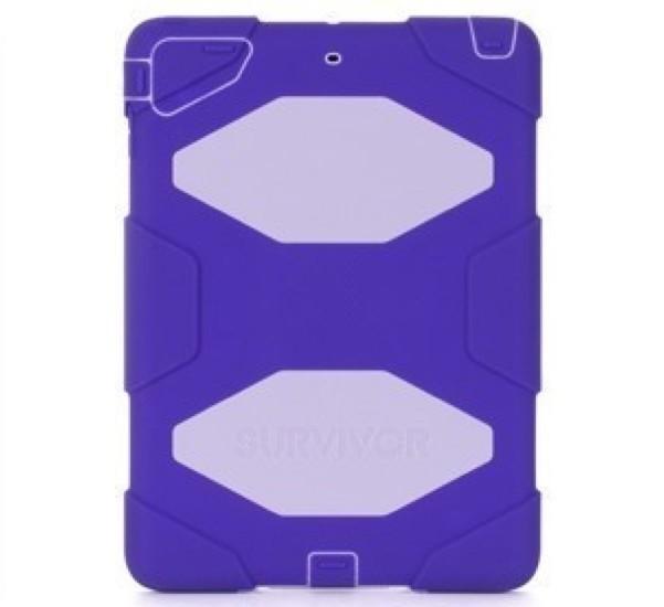 Griffin Survivor All-Terrain hardcase iPad Air 1 paars/lila