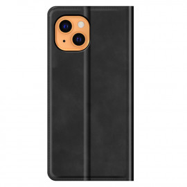 Casecentive Magnetic Leather Wallet case iPhone 13 black