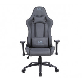 Nordic Gaming Racer Fabric Gaming Chair Dark Grey
