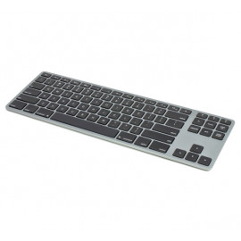 Matias Draadloos Toetsenbord QWERTY zonder Numpad voor MacBook space grey