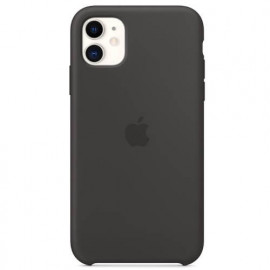 Apple silicone case iPhone 11 black