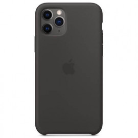 Apple silicone case iPhone 11 Pro Max black