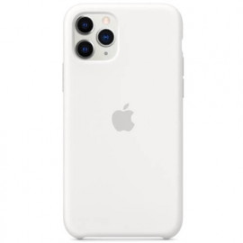 Apple silicone case iPhone 11 Pro white