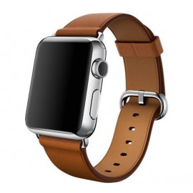 Apple Classic Buckle Apple Watch 38mm / 40mm Saddle Brown
