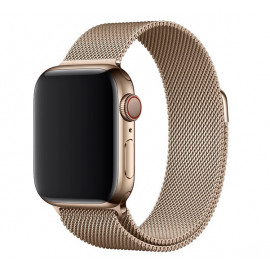 Apple Milanese Loop Band Apple Watch 42mm / 44mm Gold