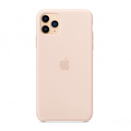 Apple silicone case iPhone 11 Pro Max Pink Sand