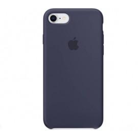 Apple silicone case iPhone 7 / 8 midnight blauw
