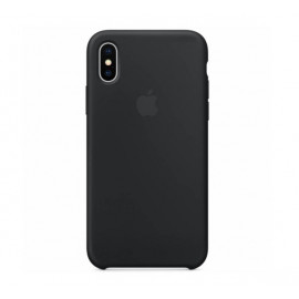 Apple silicone case iPhone X / XS black