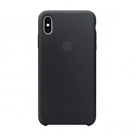 Apple Silicone Cover iPhone XS Max zwart