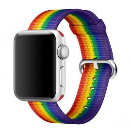 Apple Woven Nylon Apple Watch 38mm / 40mm Pride Edition