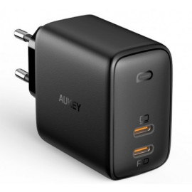 Aukey 2 Port Power Delivery Charger 65W (2 x USB-C)