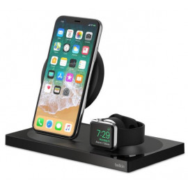 Belkin 7.5W Charge Dock Apple Watch / iPhone zwart