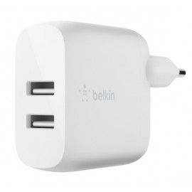 Belkin Dual USB-A Charger 24W + Lighting kabel