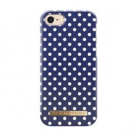 iDeal of Sweden Fashion Case iPhone 7 / 8 / SE 2020 blue polka dots