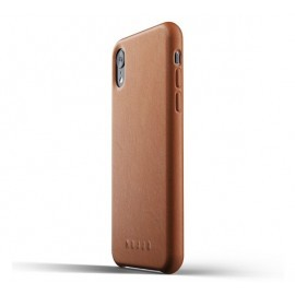 Mujjo Leather Case iPhone XR bruin