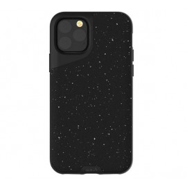 Mous Contour Leather iPhone 11 Pro Max speckled black