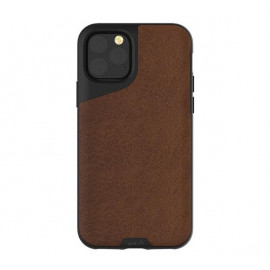 Mous Contour Leather iPhone 11 Pro Max bruin