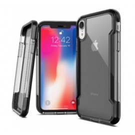 X-Doria Defense Clear cover iPhone XR zwart