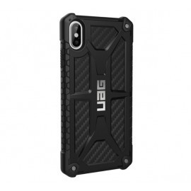 UAG Hard Case Monarch iPhone XS Max Carbon zwart
