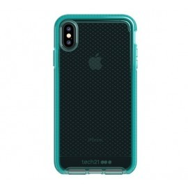 Tech21 Evo Check iPhone XS Max transparant / groen