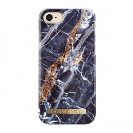 iDeal of Sweden Fashion Back Case iPhone 7 / 8 / SE 2020 midnight blue marble