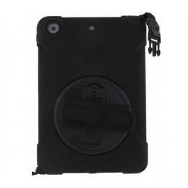 Xccess AirStrap case met handvat en schouderriem iPad Mini 4 zwart