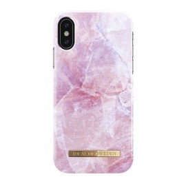 iDeal of Sweden Fashion Back Case iPhone X / XS pilion pink marble