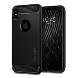 Spigen Case Rugged Armor iPhone X / XS matt zwart
