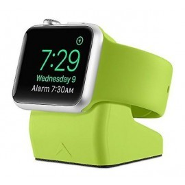 Casecentive Charging Dock Apple Watch 1 / 2 / 3 / 4 groen