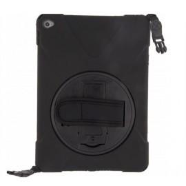 Xccess AirStrap case met handvat en schouderriem iPad Air 2 zwart