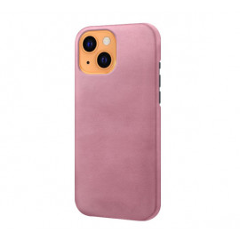 Casecentive Leather Back case iPhone 13 rose gold