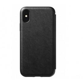 Nomad Rugged Case Tri-Folio iPhone XS Max zwart